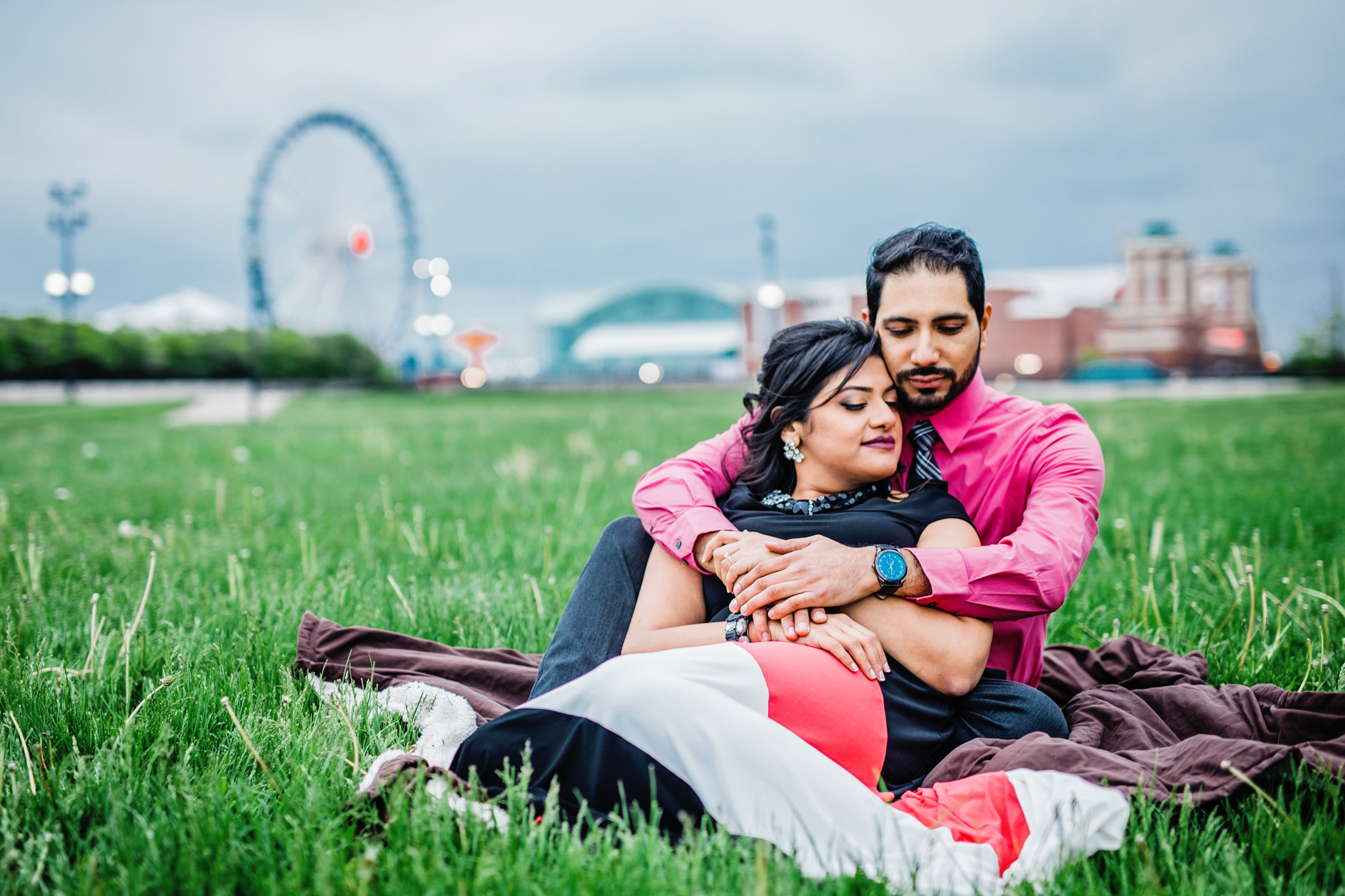 Surprise Engagement Proposal - Downtown Chicago