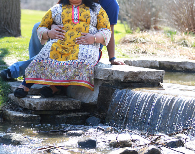 RUCHI'S MATERNITY PHOTO SESSION