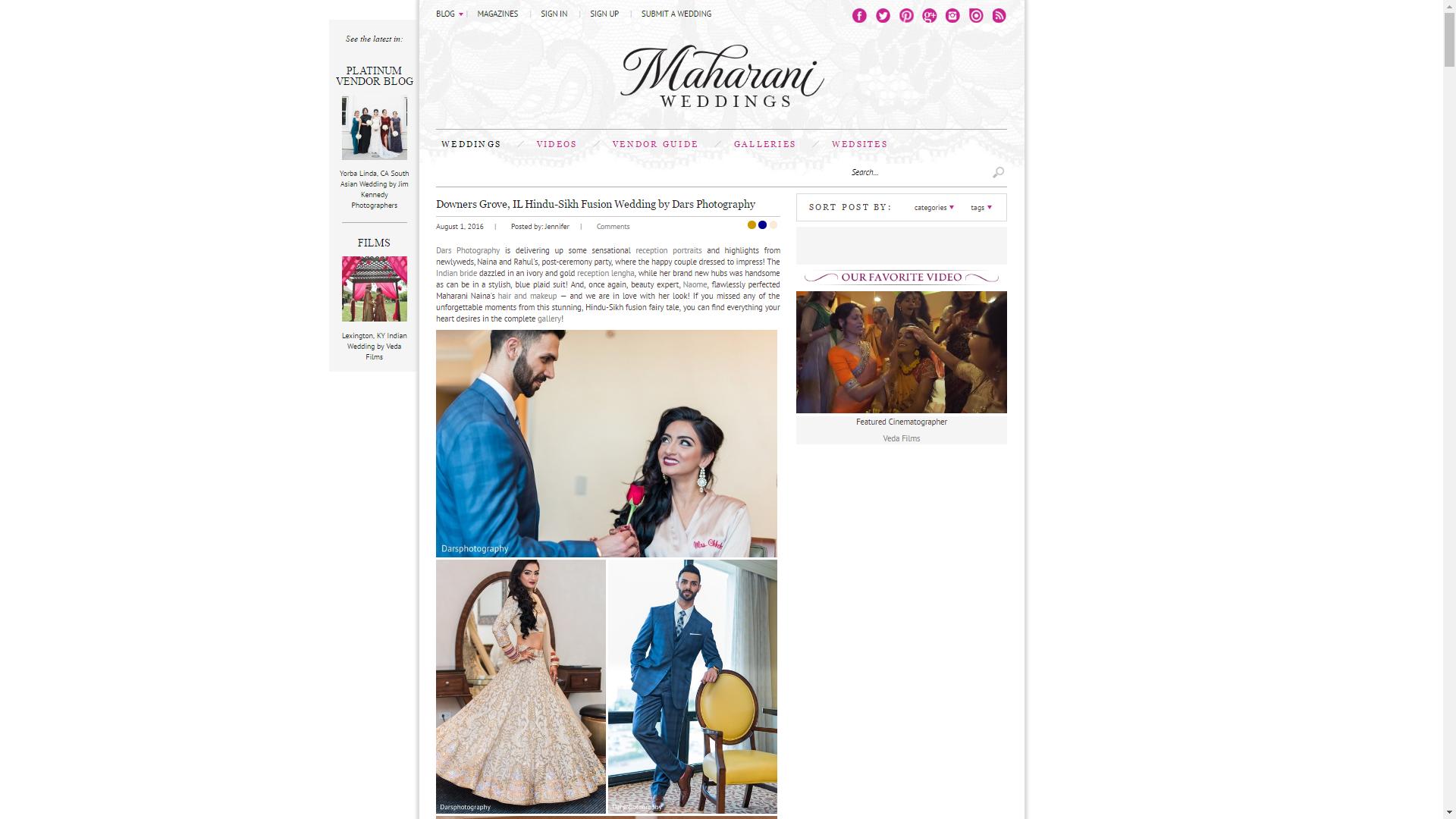 Maharani Weddings DARS Photo