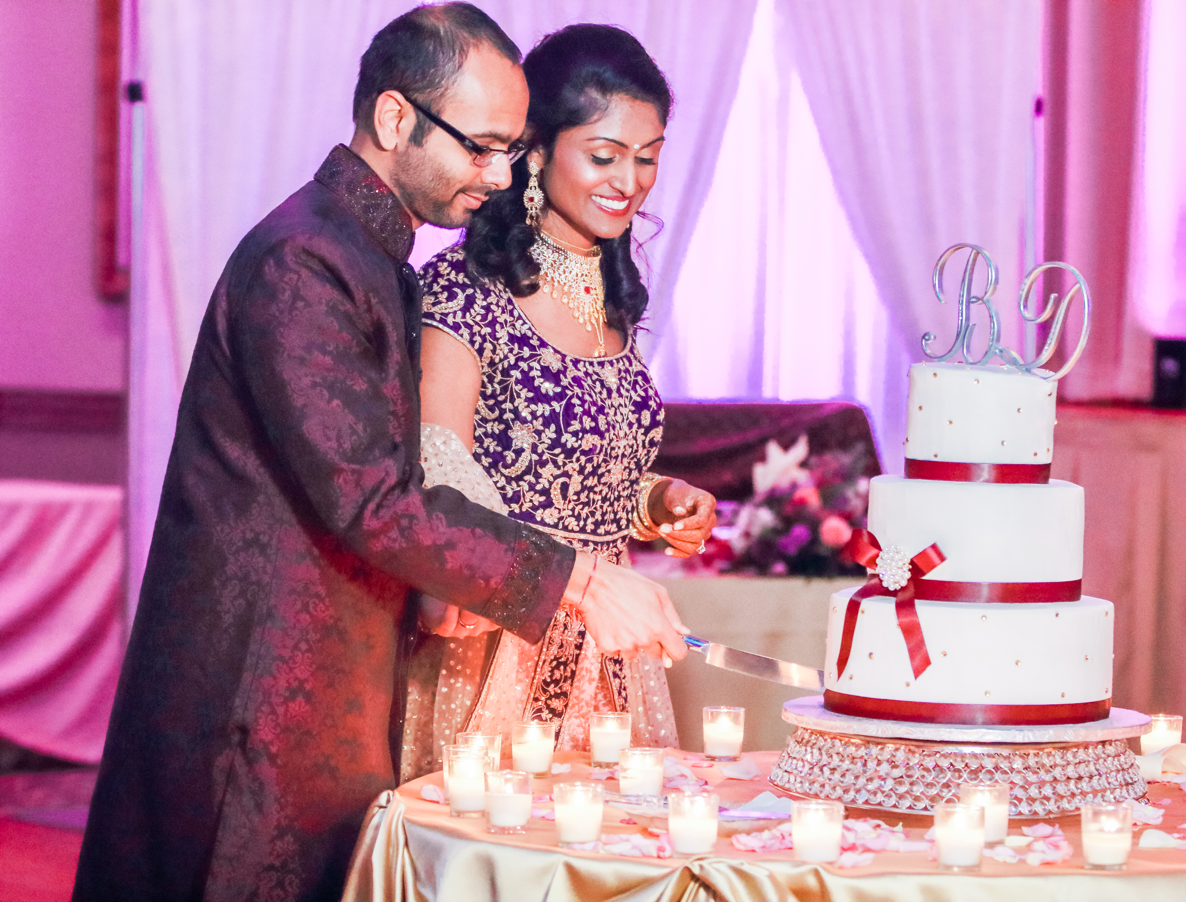 Chicago American & Indian Wedding Photographer | DARS Photography