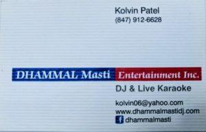 dj & live karaoke KOLVIN PATEL