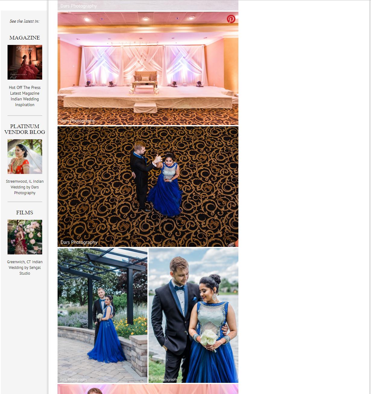 Maharani Wedding Featuring DARS Photography