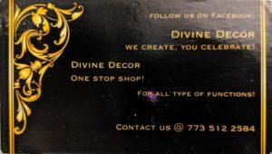 Wedding Vendor Divine Decor