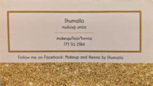 Wedding Vendor Shumaila - Makeup Artist
