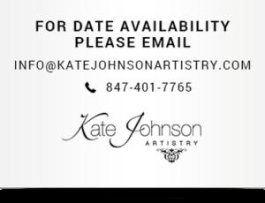 Kate Johnson Artistry Brides