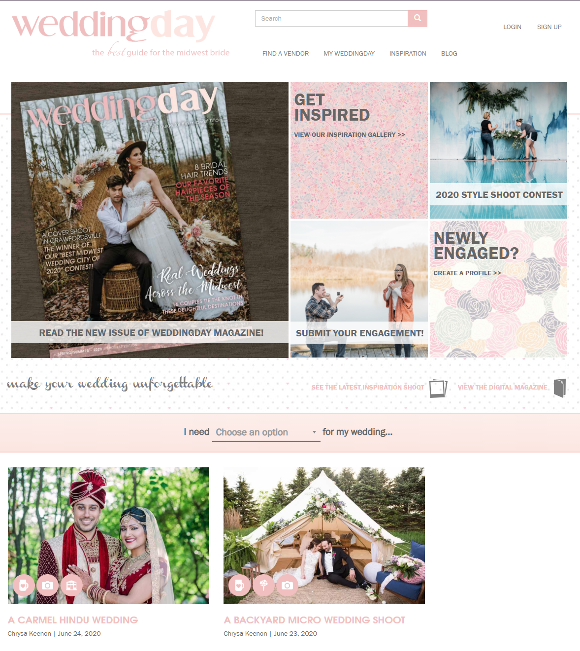 DARS Photography FEATURED BY WEDDING DAY MAGAZINE